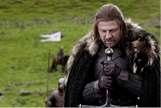 Still of Sean Bean in Game of Thrones