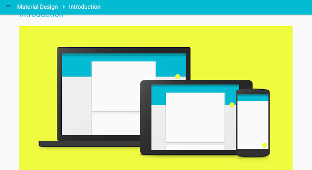 Material Design Preview