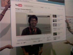 Jakarta's Google Chrome Release Party