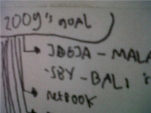 trip to bali. goal taun 2009