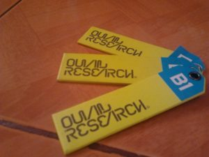 Ouval Research Tag