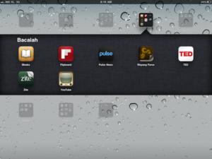 iPad reading app