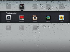 iPad photography app