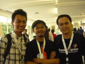 WordCamp 2010 with fellow Theme Developers