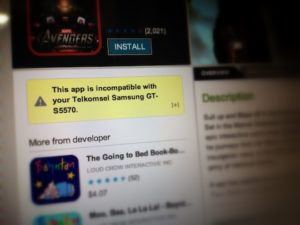 Android App Incompatibility