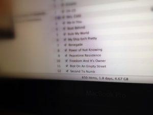Ukuran Music Library Saya pada Mei 2012. Hanya 4, 67 GB