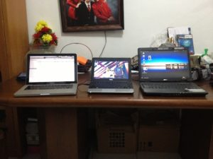 The Dynamic Trio - Mac, Dell, Acer