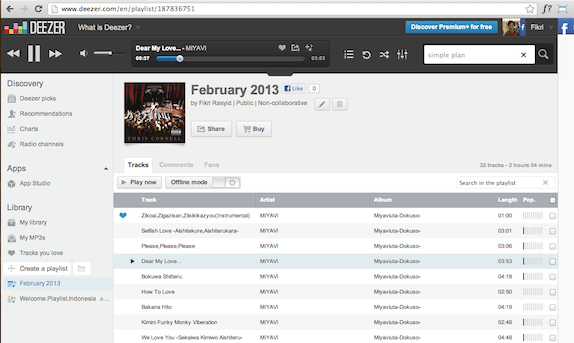 Deezer: Soon To Be iTunes Killer for Indonesian Market