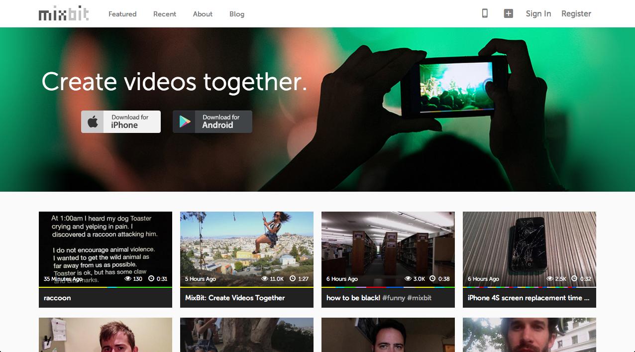"Mobile ""Collaborative Creation"" App"