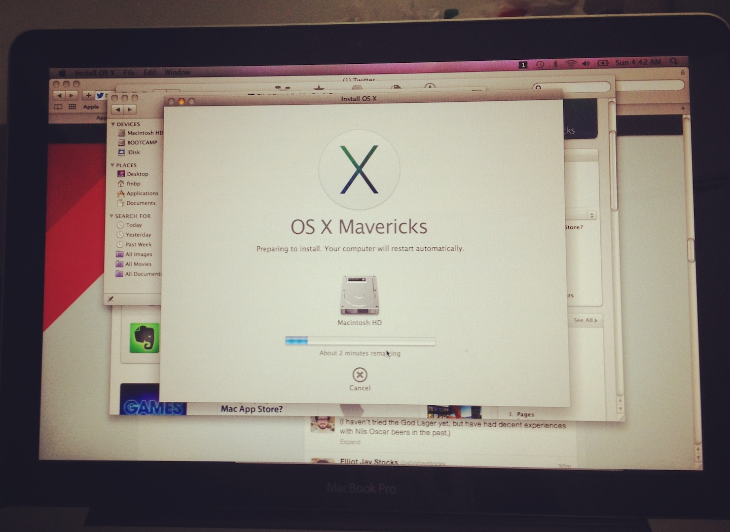 Upgrade Ke OS X 10.9 Mavericks