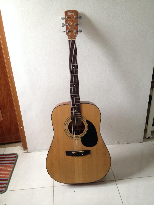 Dijual: Gitar Akustik Cort AD850 NS