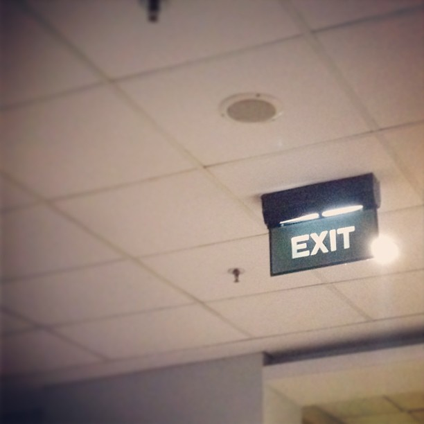 Exit-ing student's life. I'm a…