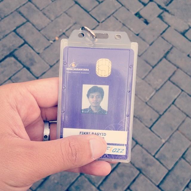 Farewell, binusian ID. #lastda…