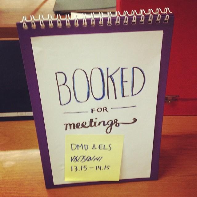 Masih ada meeting #h-2