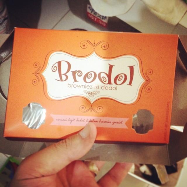 Brodol. Brownies Dodol. #facep…