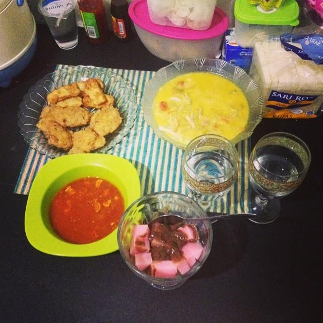 Masakan istri sore ini :* #buk…