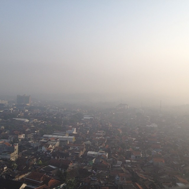The morning Bandung.
