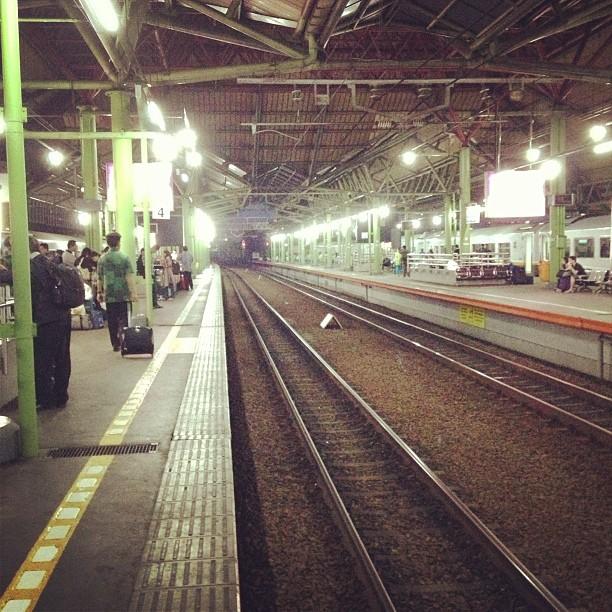 The railway.