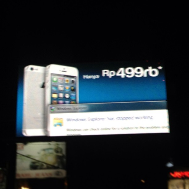 Epic fail. Billboard not respo…