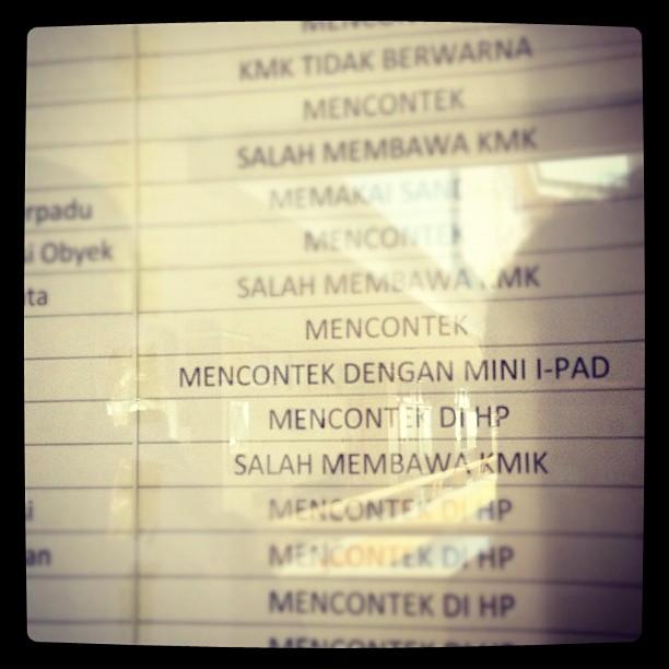 Hissh beli iPad mini susah2, d…