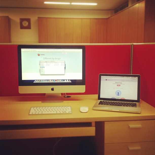 Setting up new desk. This is g…
