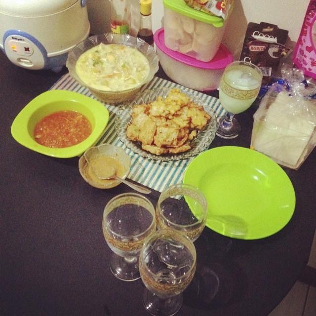 Menu buka: masakan istri :* #b…