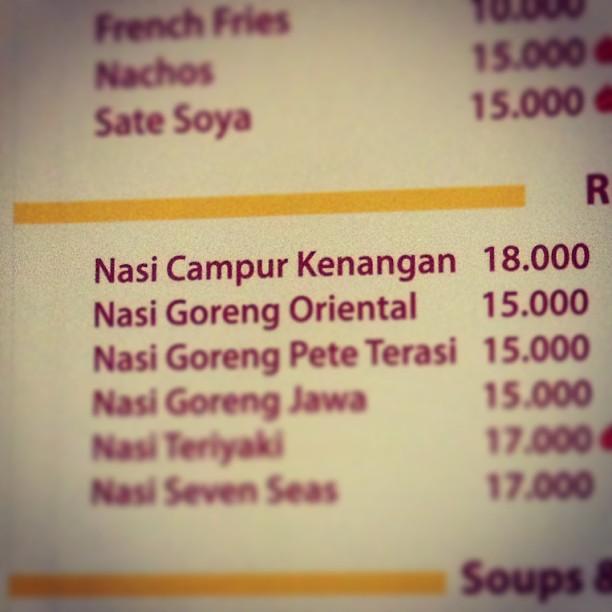 "Nemu menu ""nasi campur kenanga…"