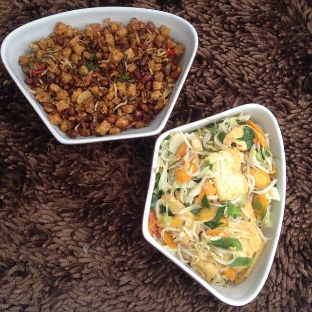 Masakan istri enak sekali :3