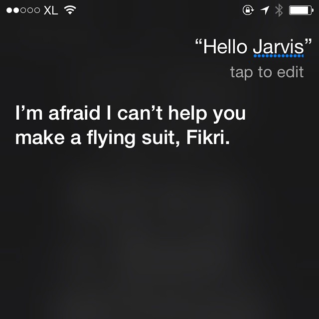 I'm not JARVIS #shitsirisays #…