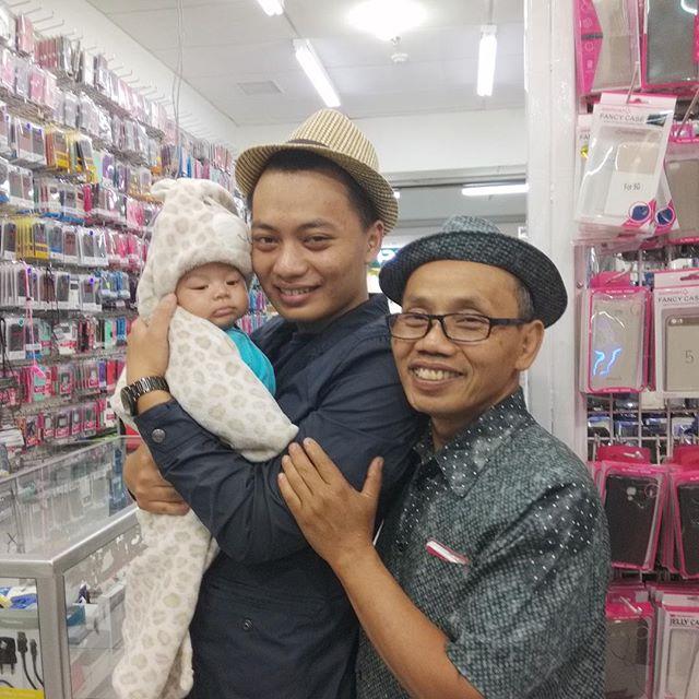 Tiga generasi. #HouseOfAsyafah