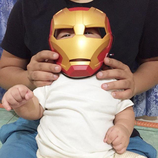 Makna Stark. Iron Boy.