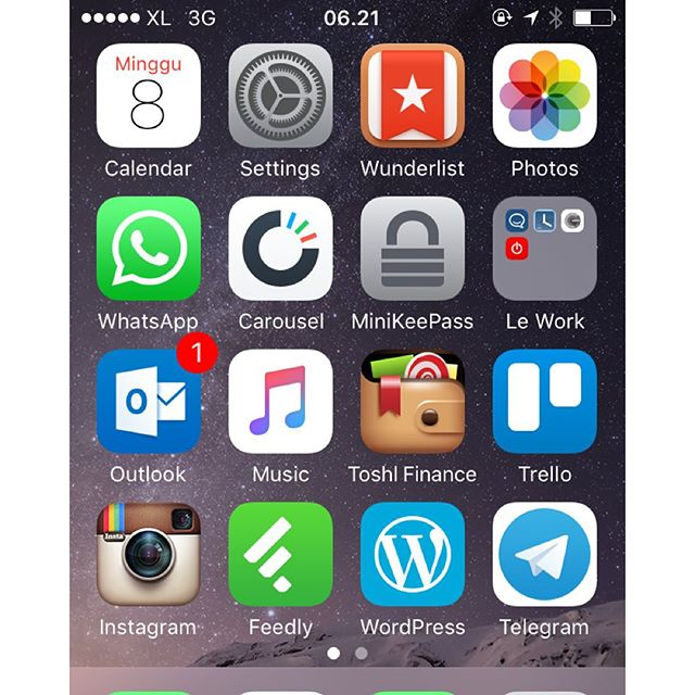 Uninstalled lots of social app…