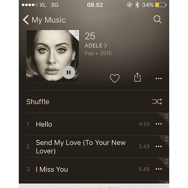 Adele – 25. Album pertama yang…