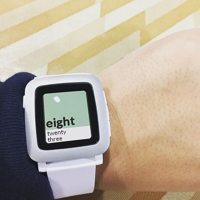 Pebble Time Review : I'm not w…