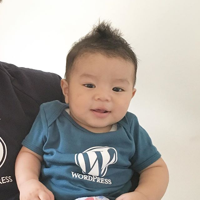 Le WordPress kiddo. Thank you …