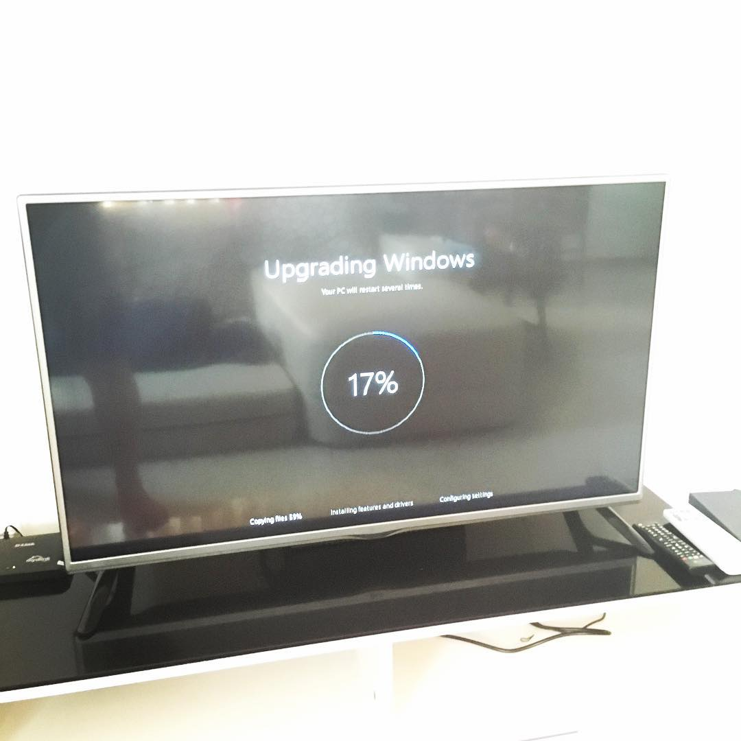 Upgrading home's HTPC to windo…