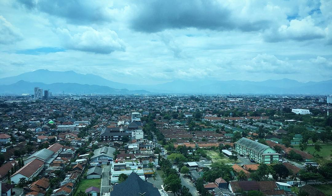 Bandung sky line