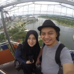 100 m above the ground, hangin…