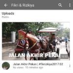 New #fikrizkiya2017 vlog is up…