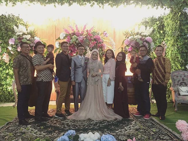 Happy wedding @ririrakhman! Nt…