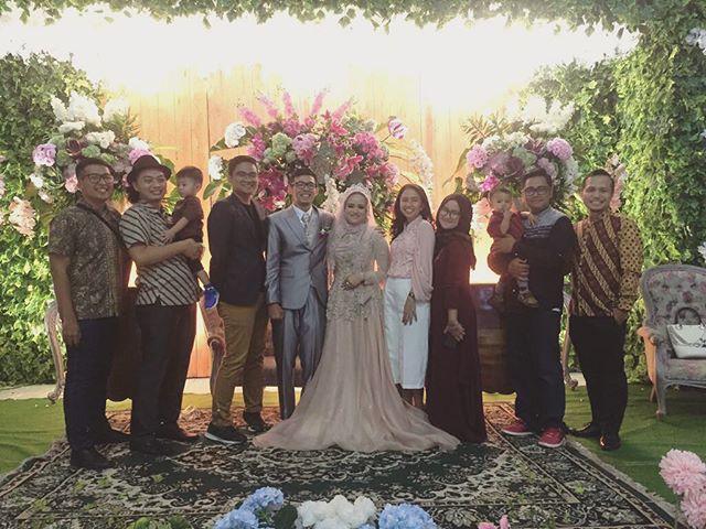 Happy wedding @ririrakhman! Nt…