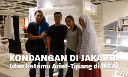 Kondangan di Jakarta (dan Ketemu Arief Tipang di IKEA) | Eps. 04