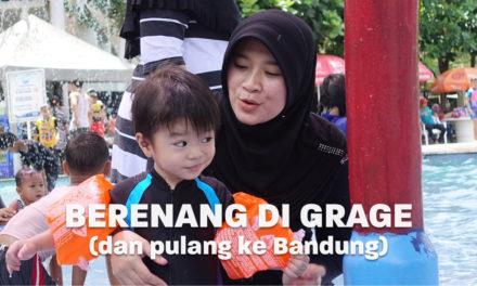 Berenang di Grage City Mall dan Pulang ke Bandung | Eps. 06