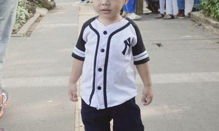 Nailin the baseball shirt