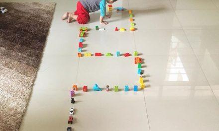 Legonya diberantakin terus kal…
