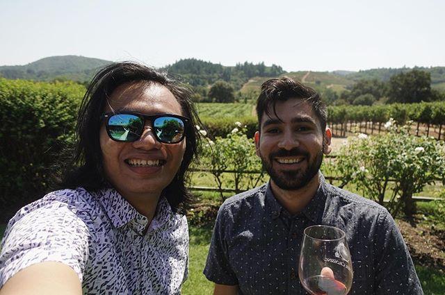 The wine country selfie. Featu…