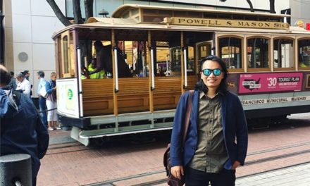 SF classic cable car with an A…