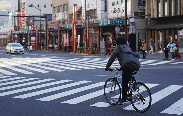 Tokyo cyclist #fikrizkiyajapan…