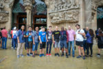 Elegant Themes team(s) at Sagrada Familia