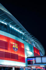 Camp Nou at Night
